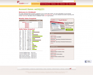 Clickbank members area